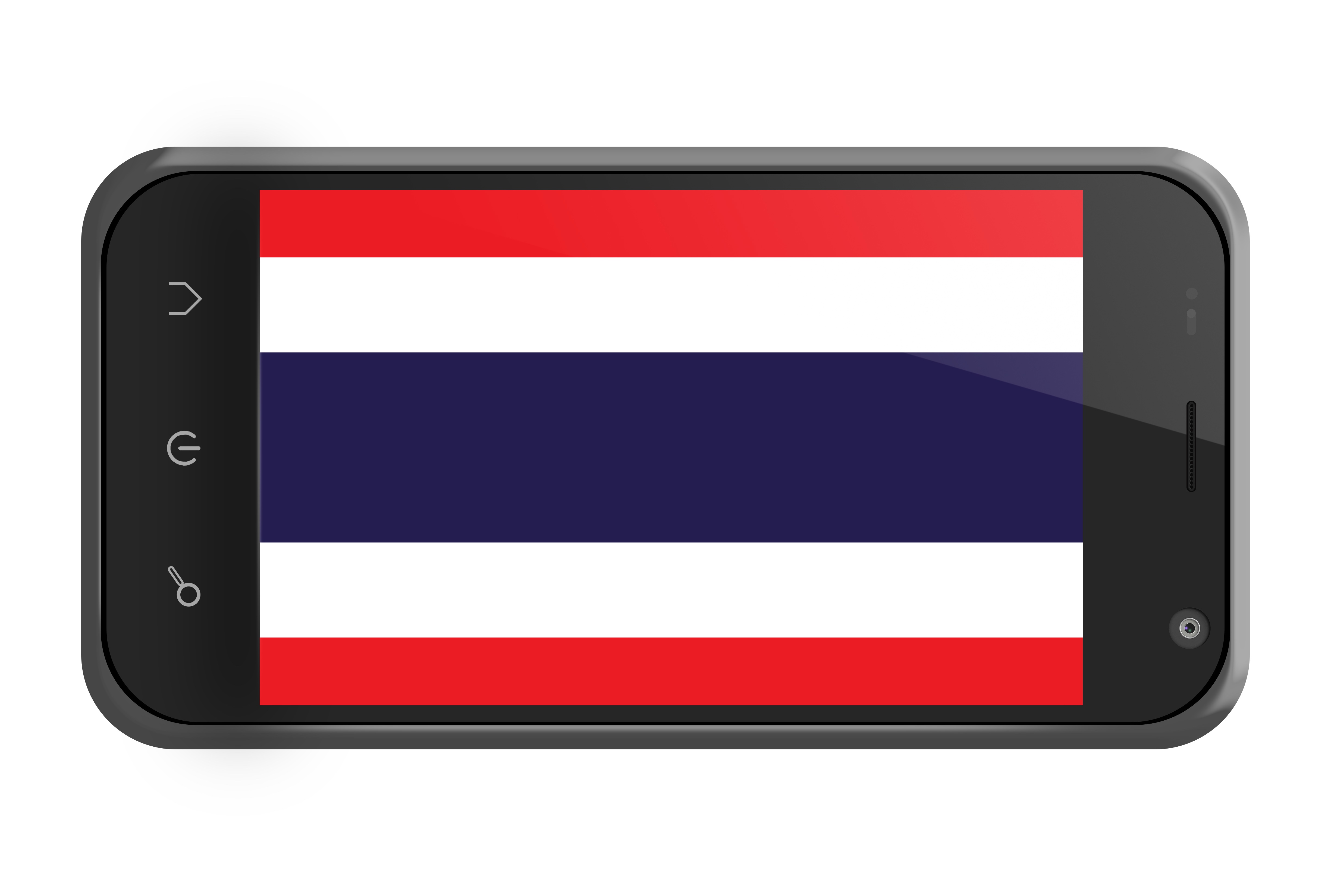 スマホ タイの国旗