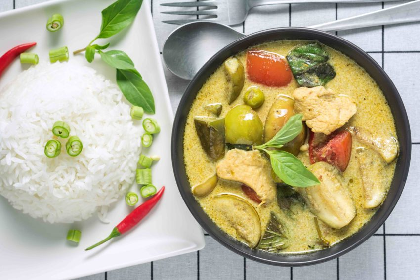 タイ料理 ゲーンキャオワーン