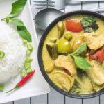 タイ料理:ゲーンキャオワーン【グリーンカレー】(แกงเขียวหวาน)