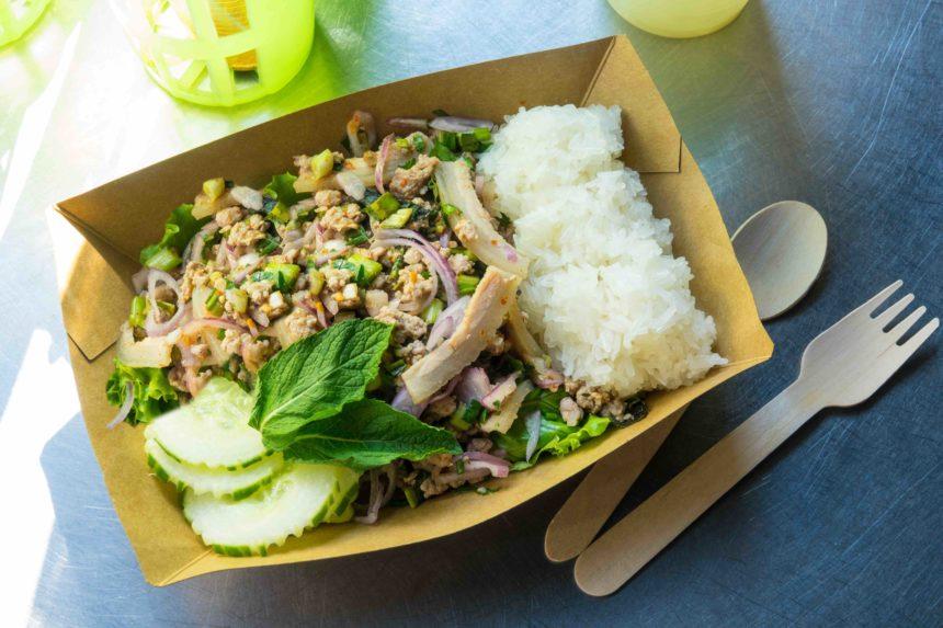 タイ料理 ラープムー