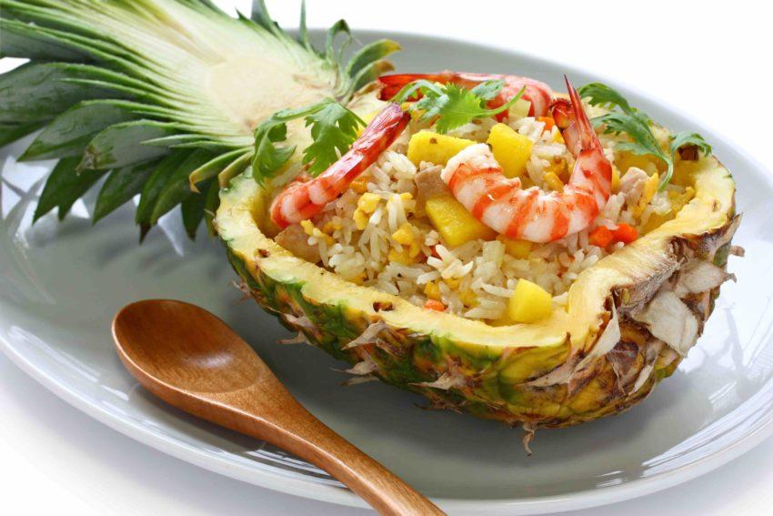 タイ料理 カオオップサパロット