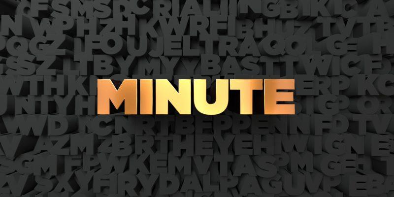 時間 minute