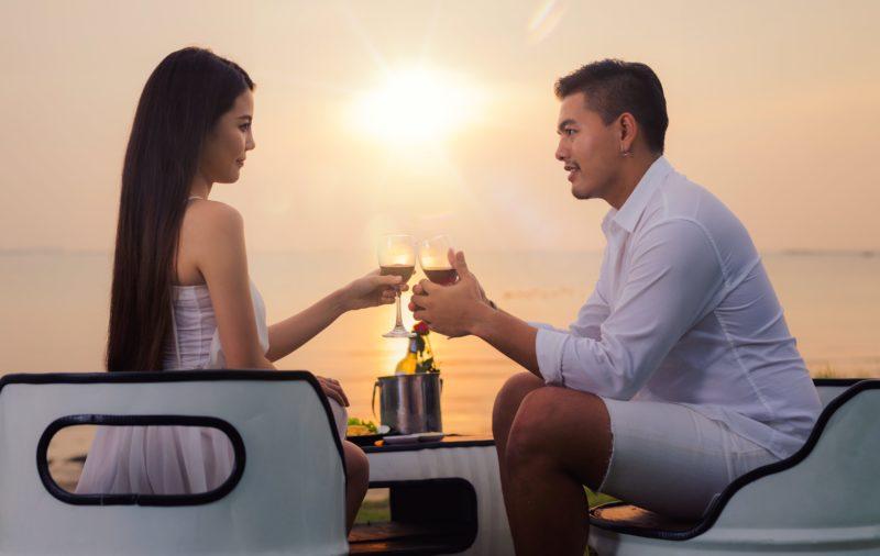 タイ ロマンチック カップル