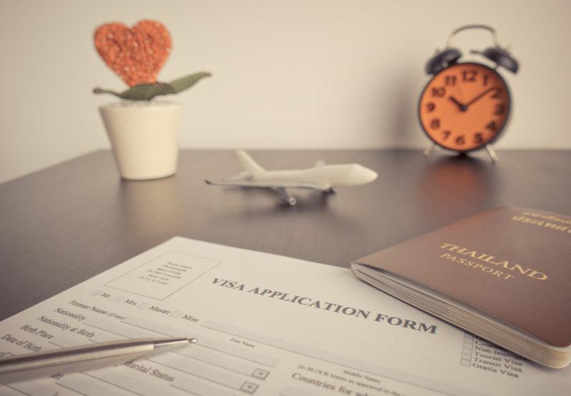 タイパスポートと飛行機