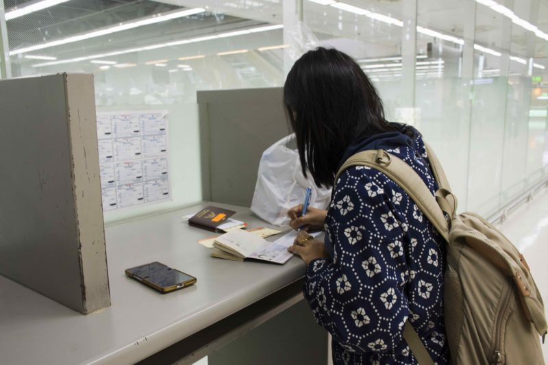 タイでビザの申請を行う