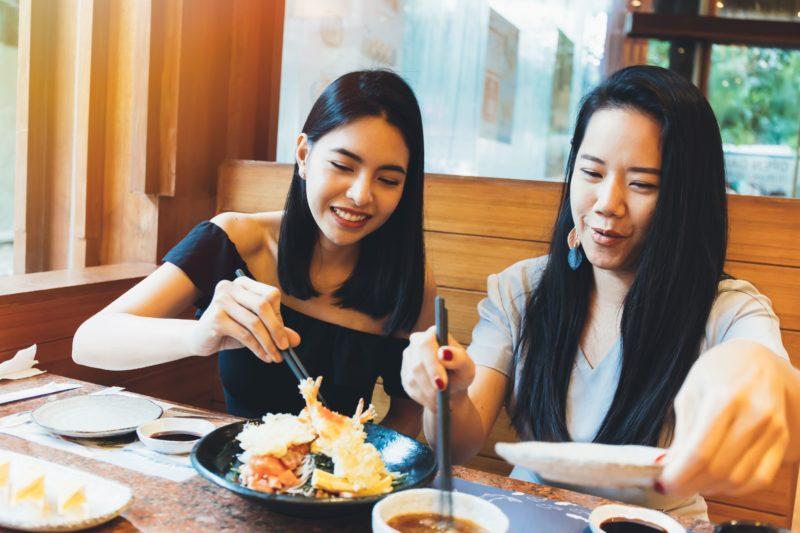 タイ人 日本食