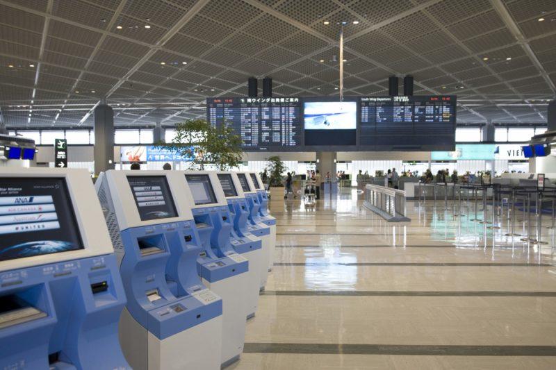 成田空港第1ターミナルの風景