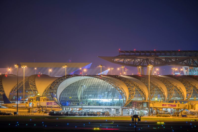 スワンナプーム国際空港 外観