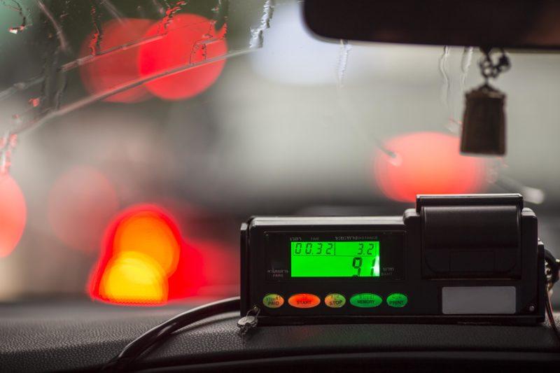 タイ タクシー メーター