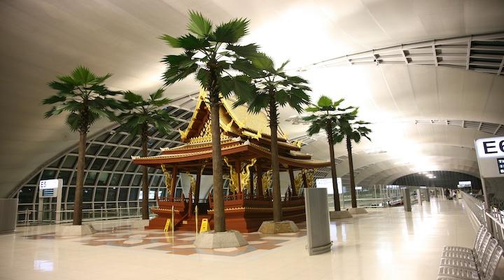 バンコク 空港内