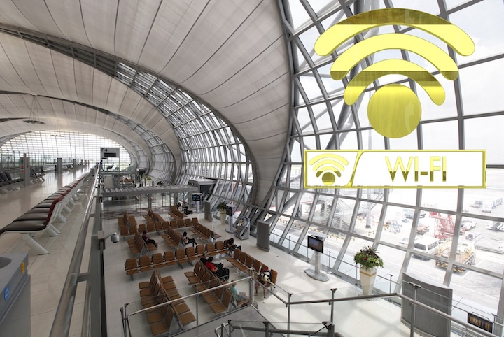 バンコク 空港 wi-fi