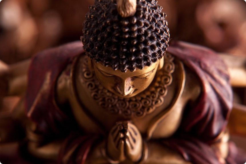 仏像 頭のボツボツ