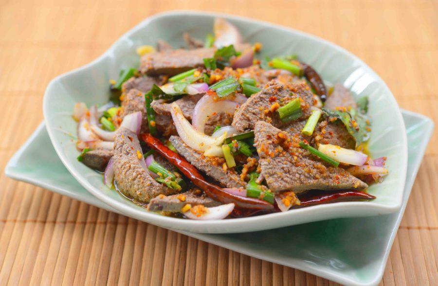 タイ料理:タップワーン(ตับหวาน)