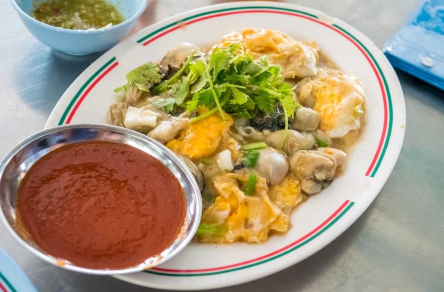 タイ料理:オースワン(ออส่วน)