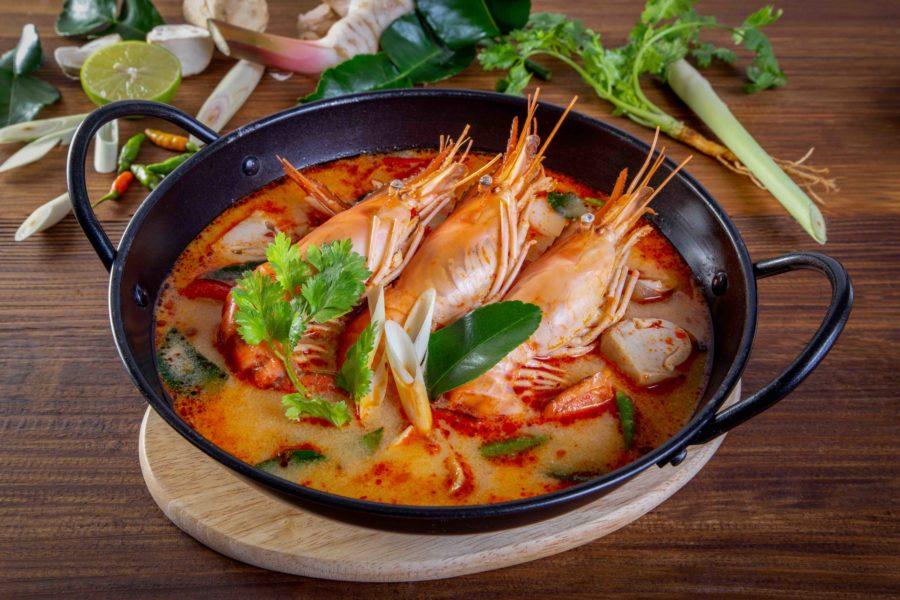 タイ料理:トムヤムクン(ต้มยำกุ้ง)