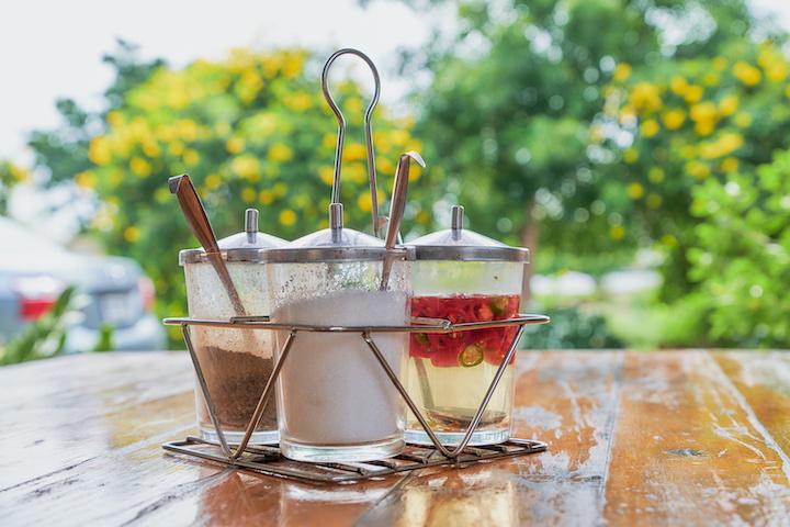 タイ テーブル調味料