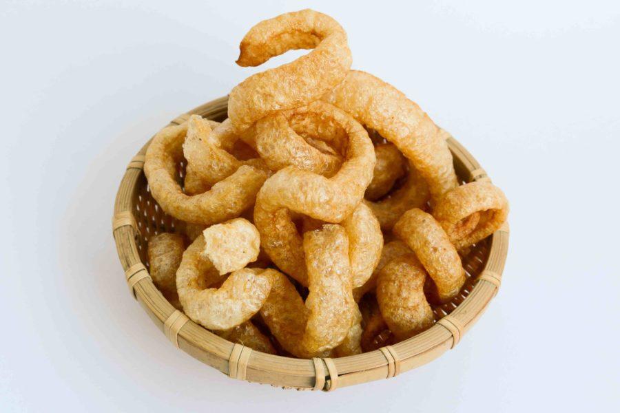 タイ料理:ケープムー(แคบหมู)