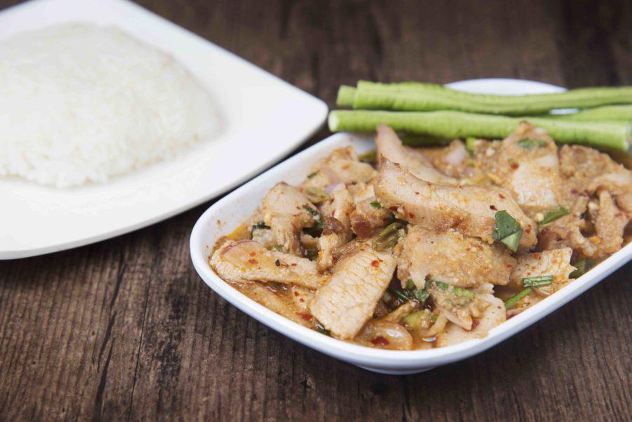 タイ料理:ナムトックムー(น้ำตกหมู )