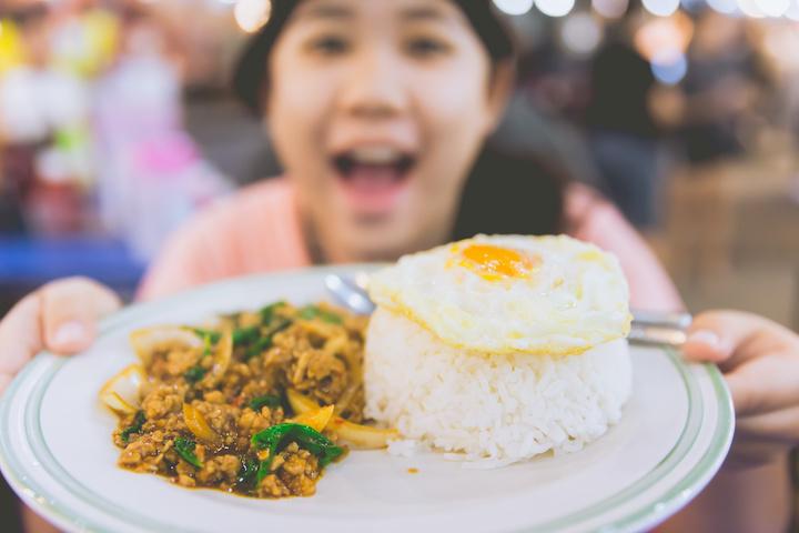 タイ料理 女の子