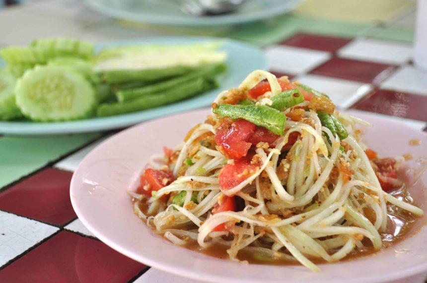 タイ料理 ソムタムラーオ