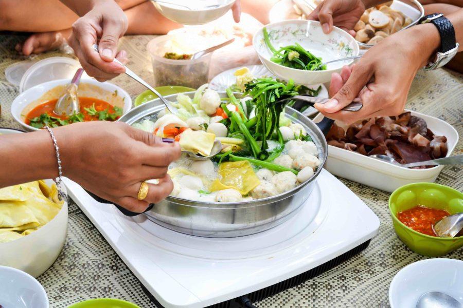 タイ料理:タイスキ(ไทยสุกี้)
