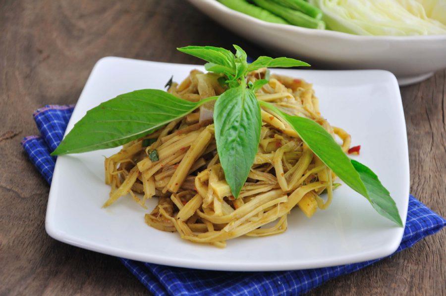 タイ料理:スップノーマイ(ซุปหน่อไม้)