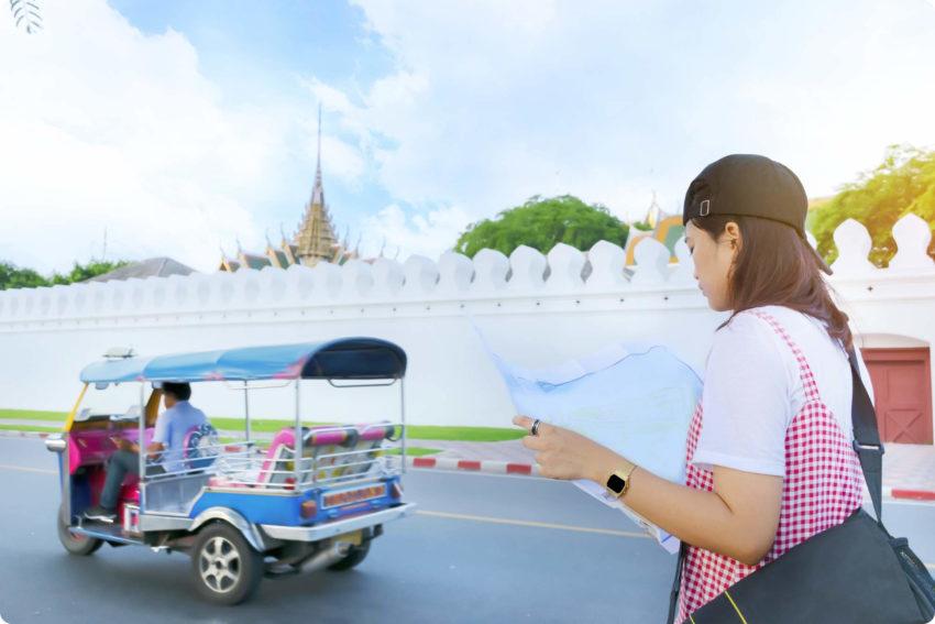 タイでトゥクトゥクと値段交渉