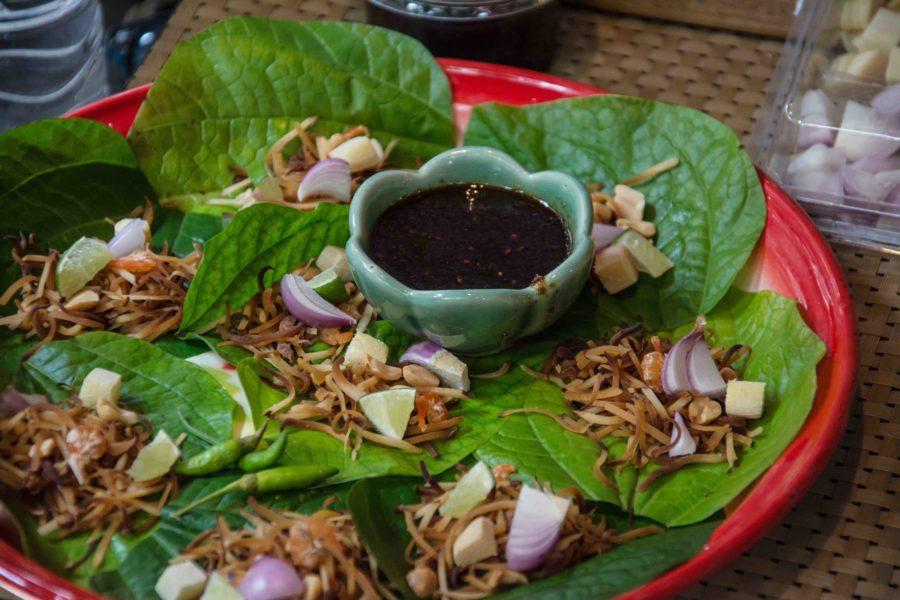 タイ料理:ミヤンカム(เมี่ยงคำ)