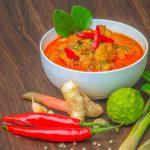 タイ料理:ゲーンペット【レッドカレー】(แกงเผ็ด)