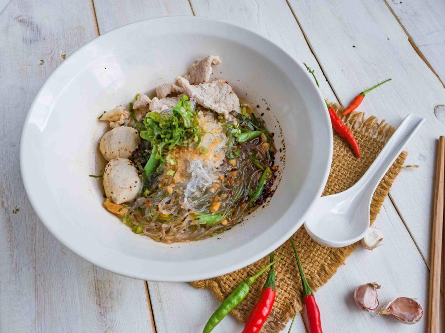 タイ料理:クイッティアオ (ก๋วยเตี๋ยว)