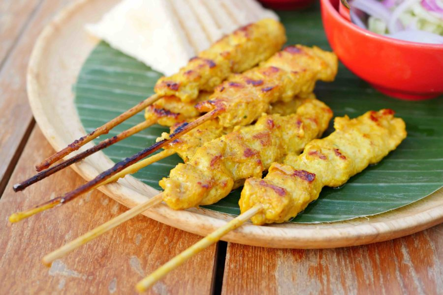 タイ料理:サテ(สะเต๊ะ)