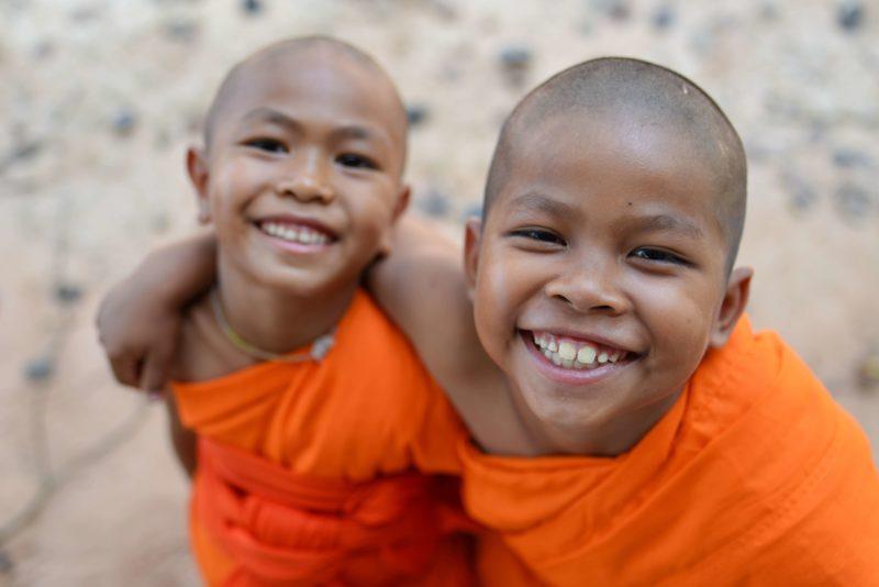 タイ 子供の僧侶