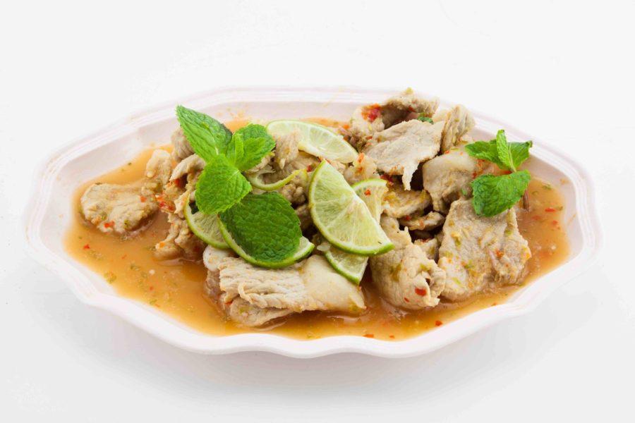 タイ料理:ムーマナオ(หมูมะนาว)