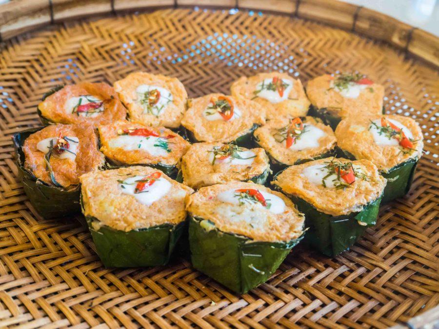 タイ料理:ホーモック(ห่อหมก)