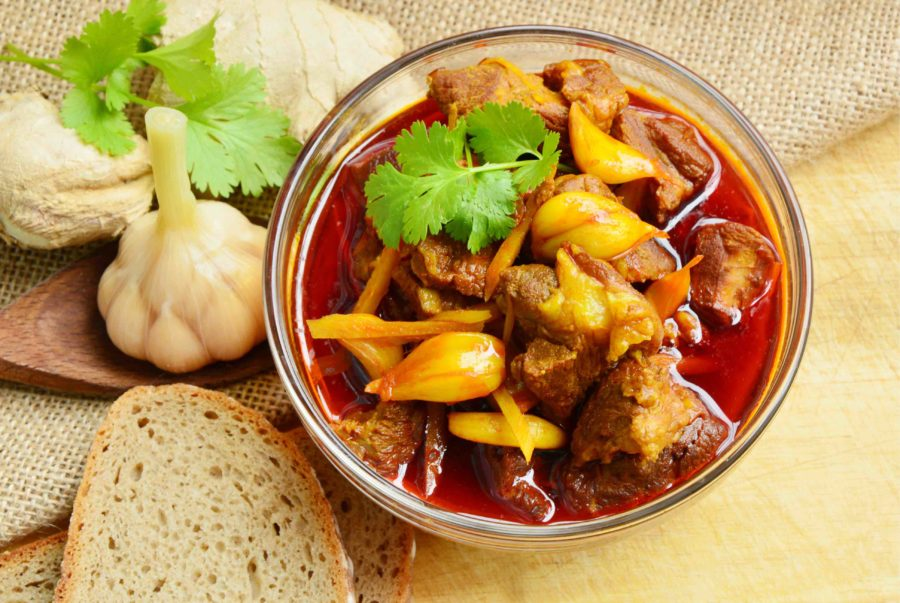 タイ料理:ゲーンハンレー(แกงฮังเล)