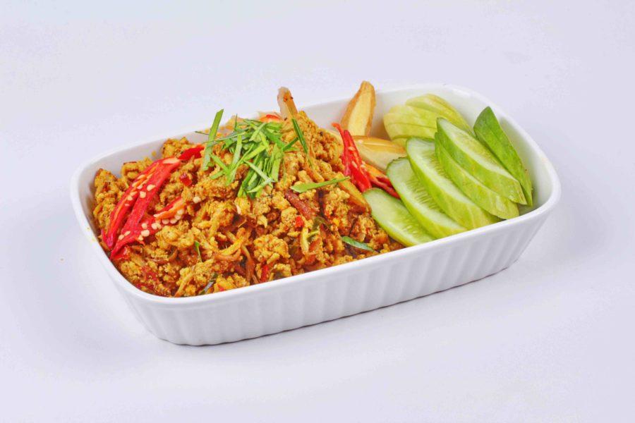 タイ料理:クアクリンムーサップ(คั่วกลิ้งหมูสับ)