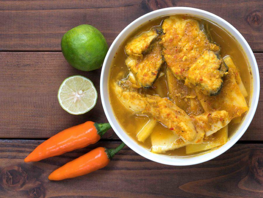 タイ料理:ゲーンタイプラー(แกงไตปลา)