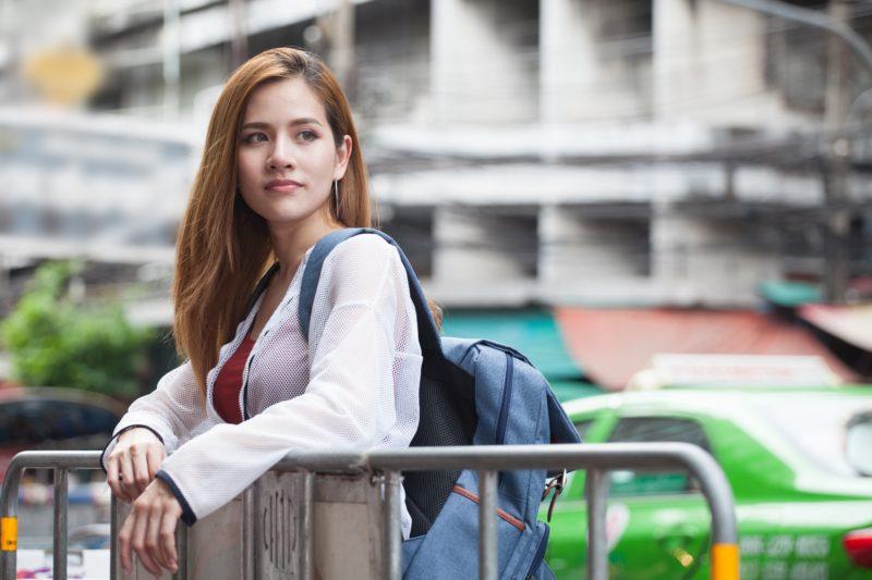 タイ旅行 女性