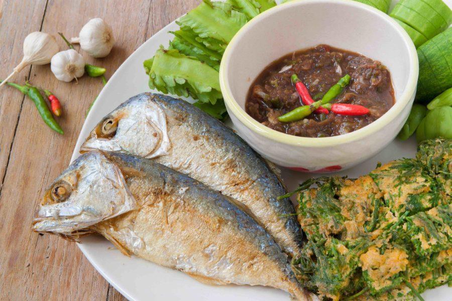 タイ料理:ナムプリック(น้ำพริก)