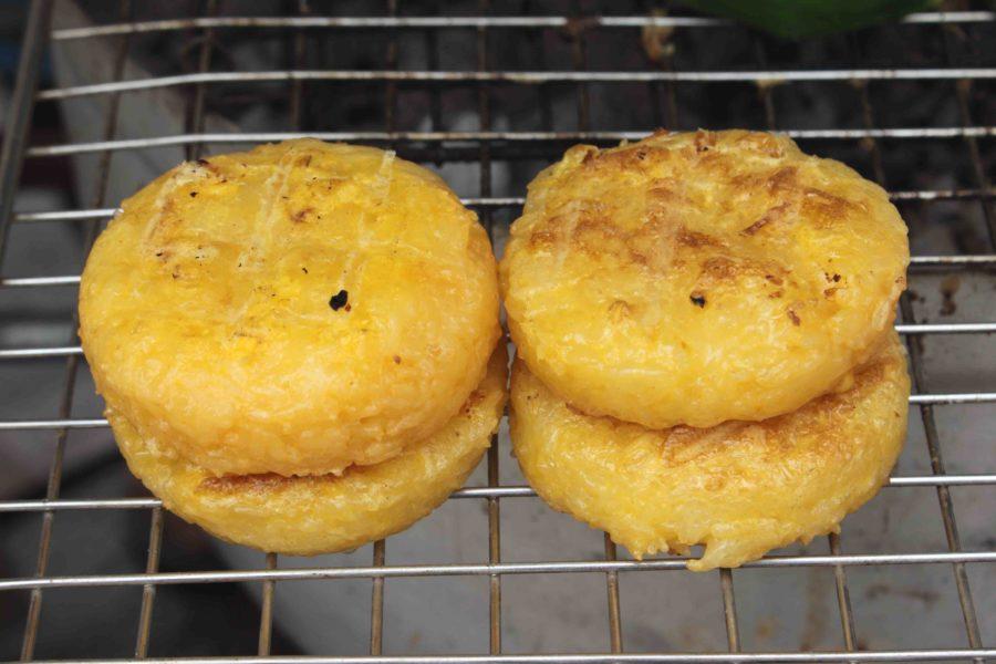 タイ料理:カオジー(ข้าวจี่)