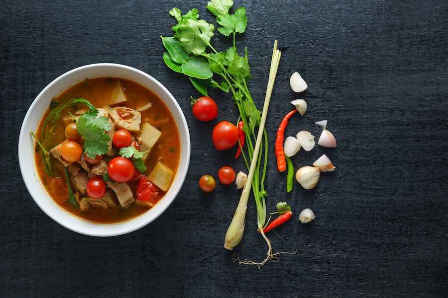 タイ料理:ゲーンカヌン(แกงขนุน)