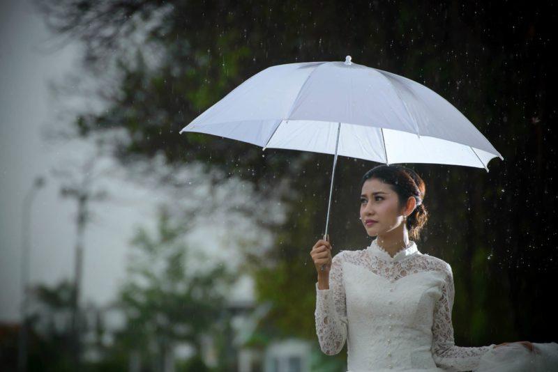 タイ人 雨 傘