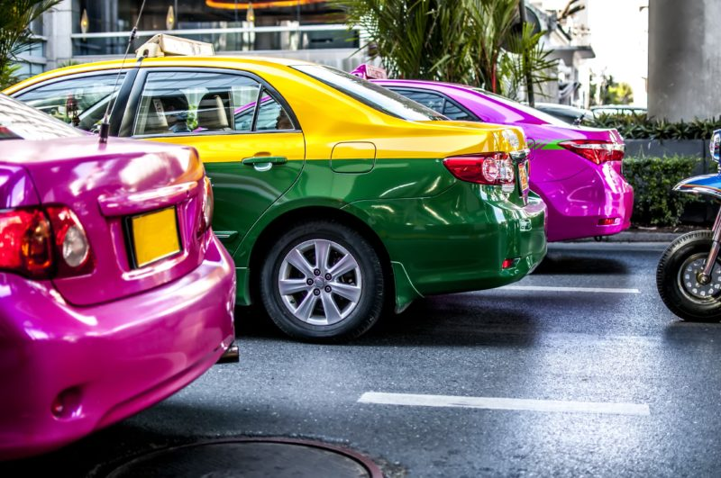 タイ タクシー 種類