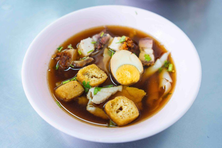 タイ料理:クイチャップ(ก๋วยจั้บ)
