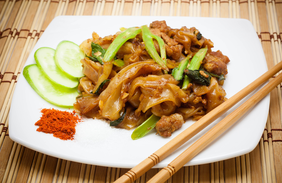 タイ料理:パットシーユー(ผัดซีอิ๊ว)
