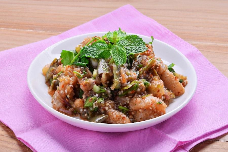 タイ料理:スップマクア(ซุปมะเขือ)