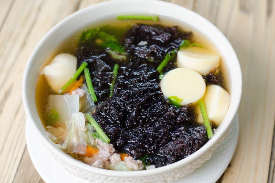 タイ料理:ゲーンチューサライ(แกงจืดสาหร่าย)