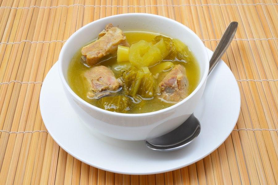 タイ料理:パッカージョー(จอผักกาด)