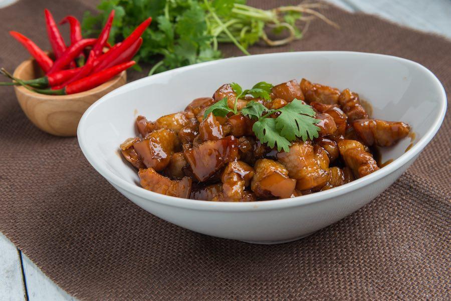 タイ料理:ムーワーン(หมูหวาน)