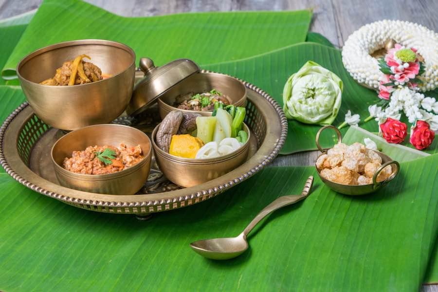 タイ料理:カントーク(ขันโตก)
